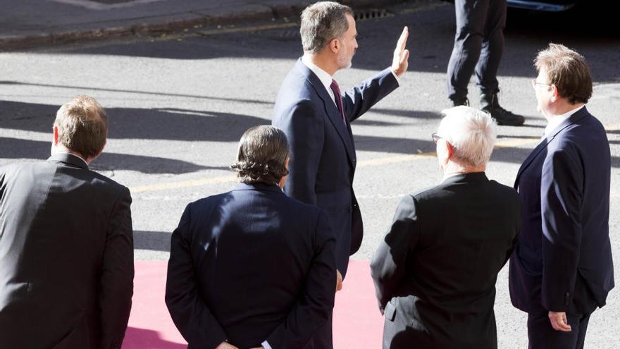 El rey pide en los Jaume I aumentar la inversión en la formación de las personas