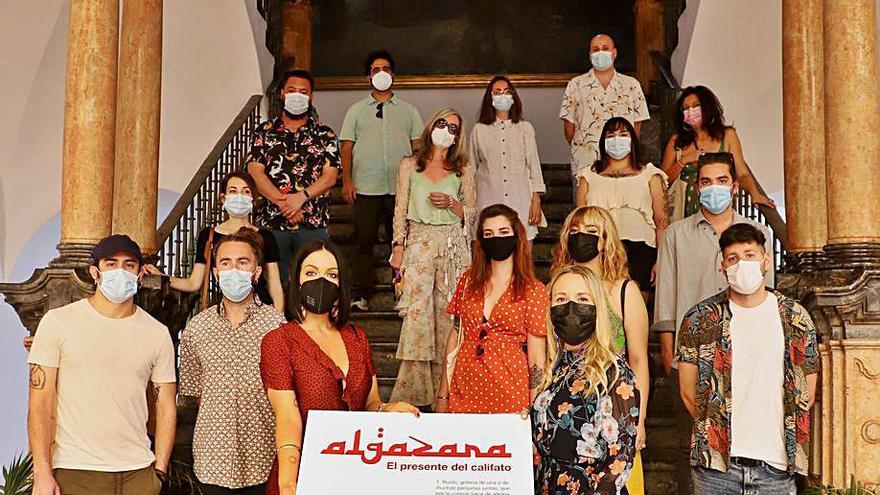 El Patio Barroco de la Diputación acoge una muestra multidisciplinar de 14 artistas