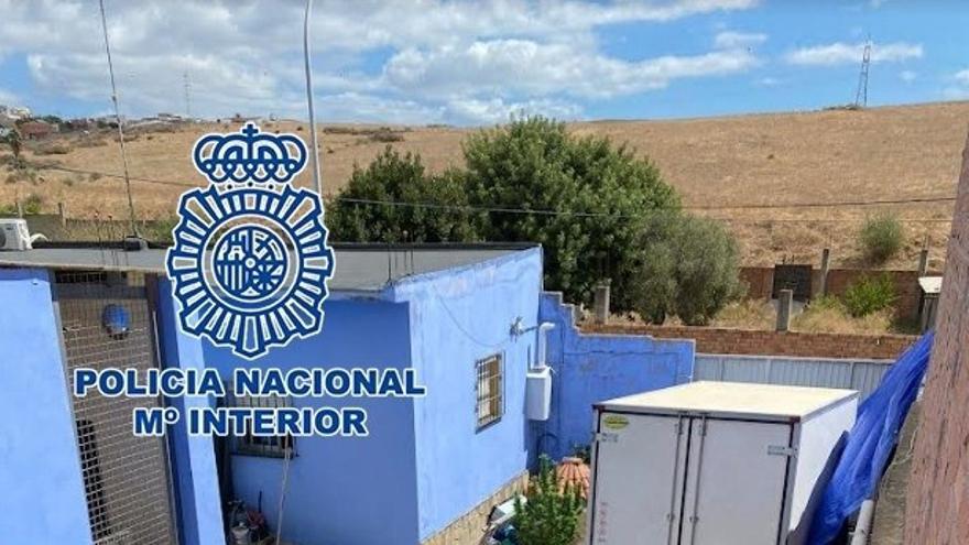 Detenidos varios cambadeses tras intervenir ocho toneladas de hachís en Algeciras