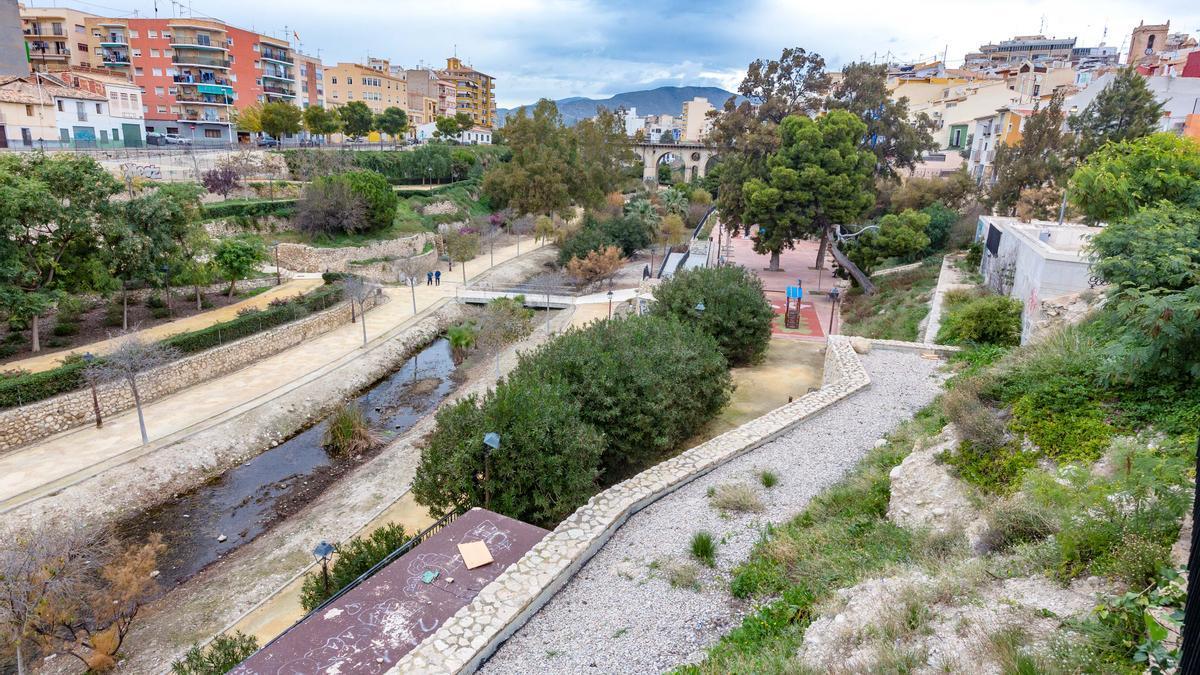 Desembocadura del río Amadorio