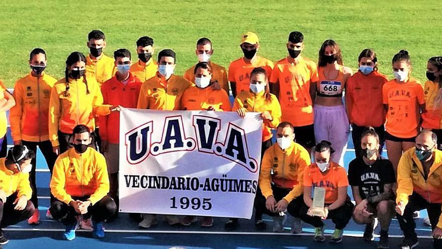 El UAVA de Vecindario, campeón regional de primera categoría