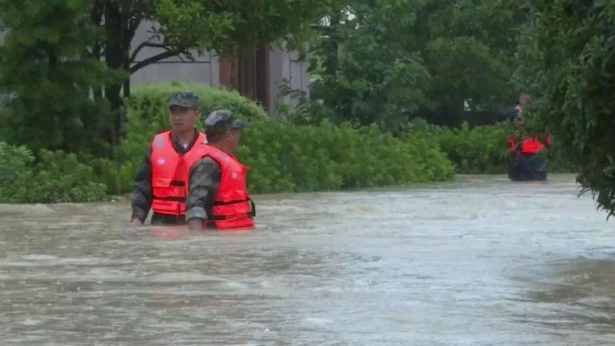 El tifón Lekima ya deja 28 muertos y 20 desaparecidos en China