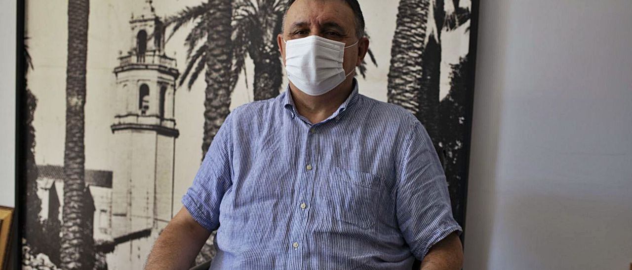 Cristóbal Barceló fotografiado en su despacho, a finales del pasado mes de septiembre | PERALES IBORRA