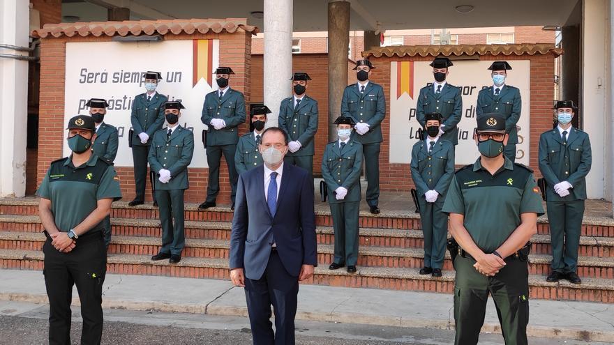 Una docena de nuevos guardias civiles se incorporan a la comandancia de Zamora