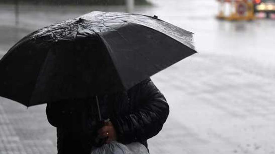 Jornada de inestabilidad con lluvias débiles en Galicia