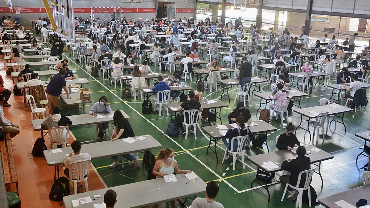 Una de las pruebas celebradas en Pontevedra.   | // R. VÁZQUEZ