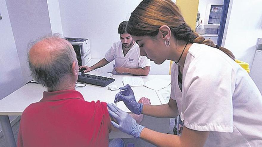 El mal tiempo eleva las vacunas contra la gripe en Castellón