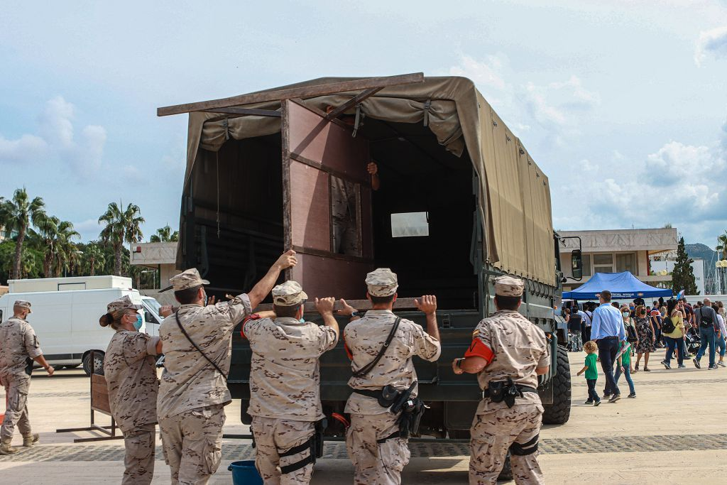 Acto de la Armada en Cartagena