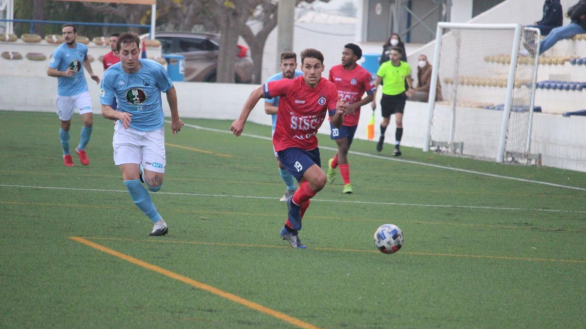 Dieguito, jugador del Benicarló.