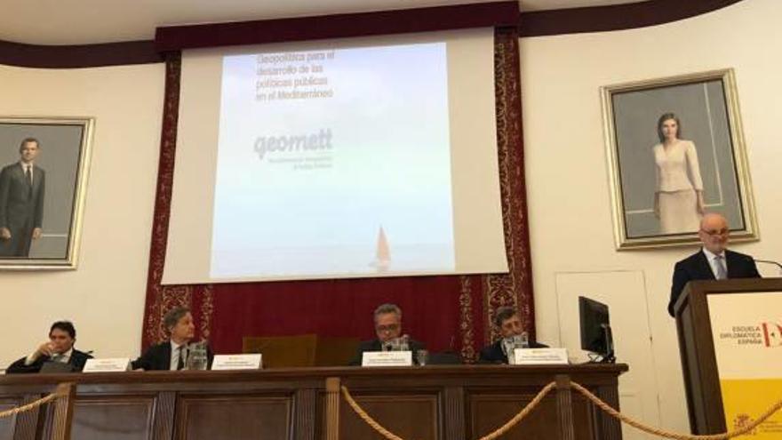 Garcés presenta en sociedad su proyecto Geomett