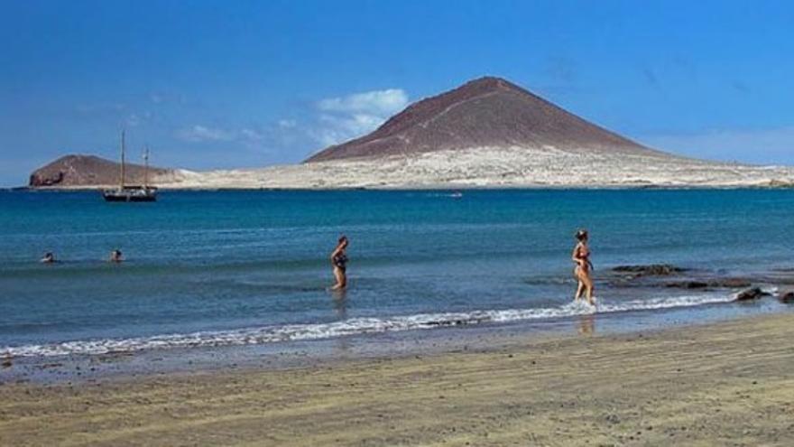 El Médano, una playa multiusos