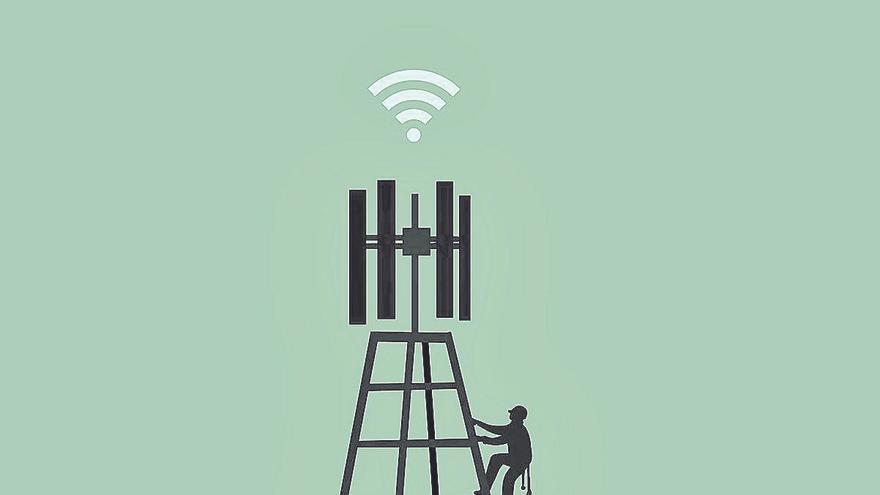 Infraestructuras digitales  y empleo