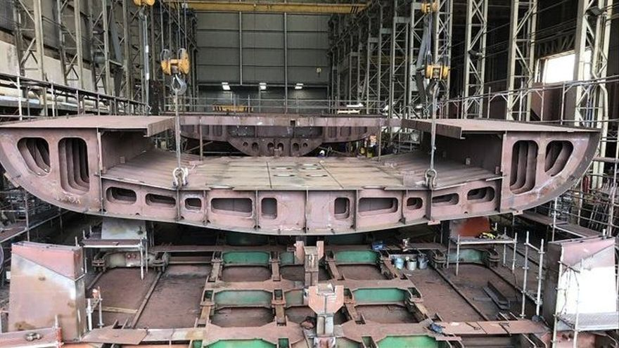 Armón Vigo acelera la construcción del oceanográfico para Irlanda