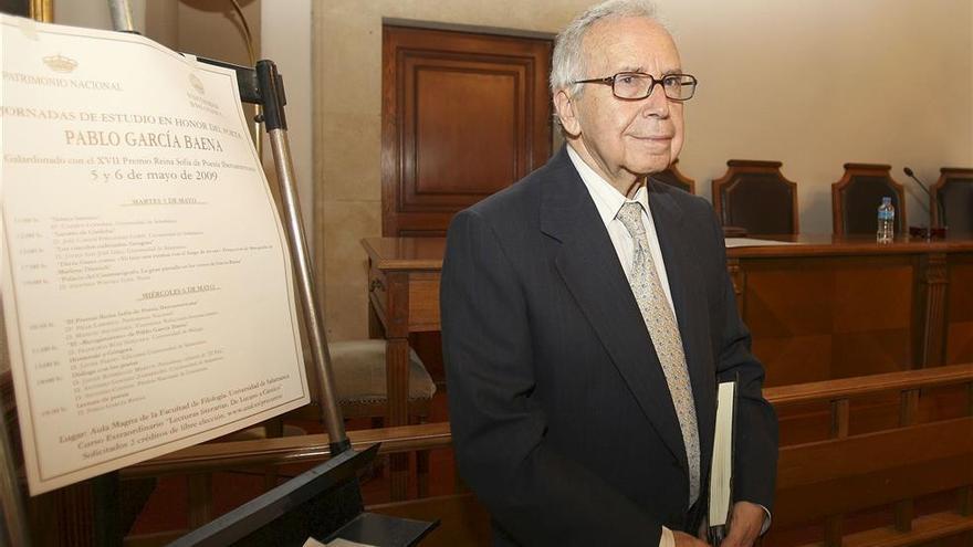 La Junta rinde homenaje a Pablo García Baena en el centenario de su nacimiento