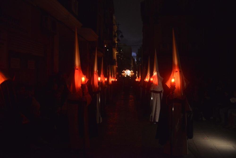 La tormenta respeta la procesión del Silencio