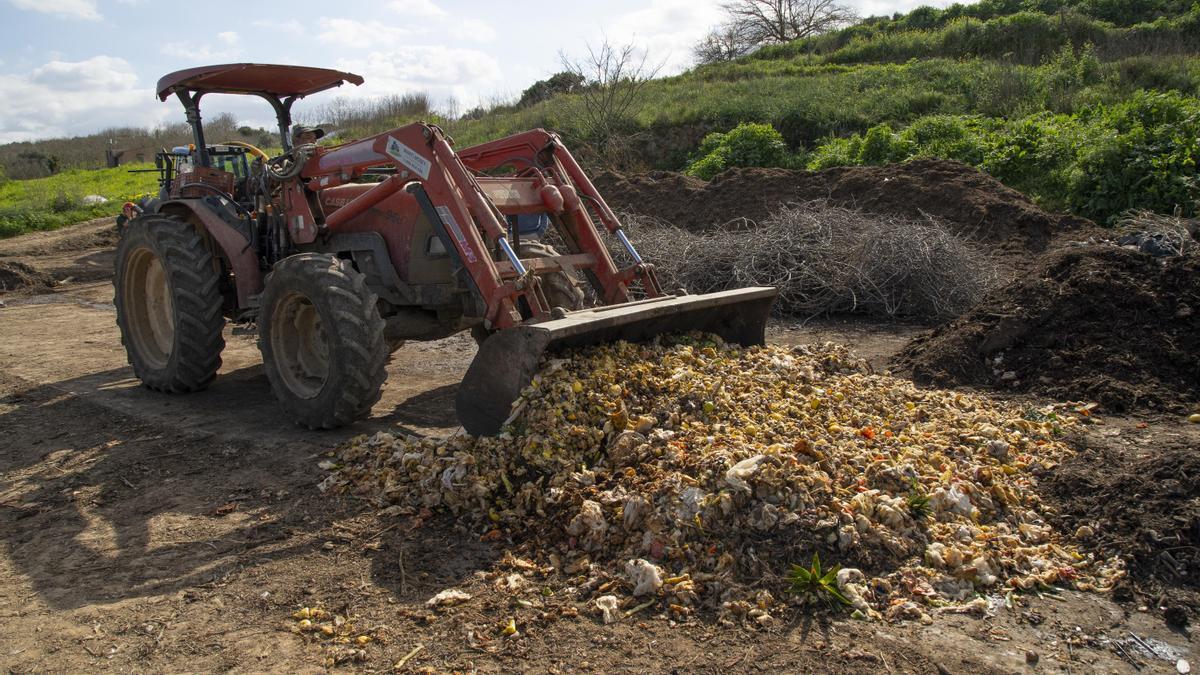 Economía Circular: proyecto pionero de proceso de elaboración de compost a partir de residuos orgánicos del hotel.