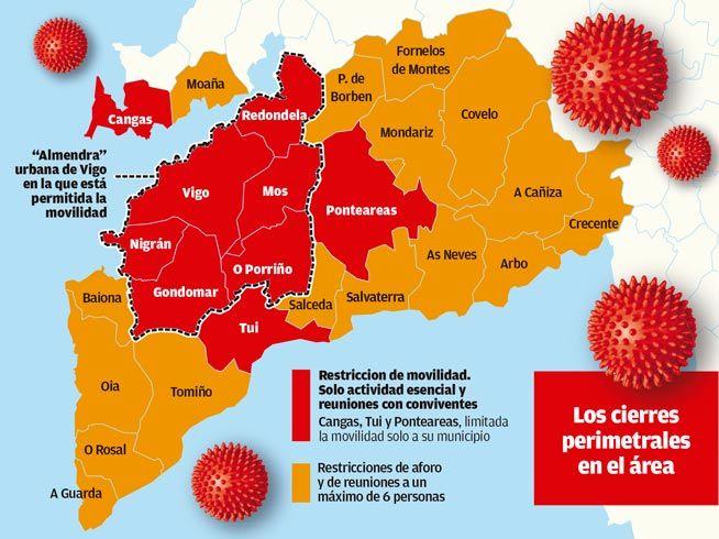 Cierre perimetral del área de Vigo