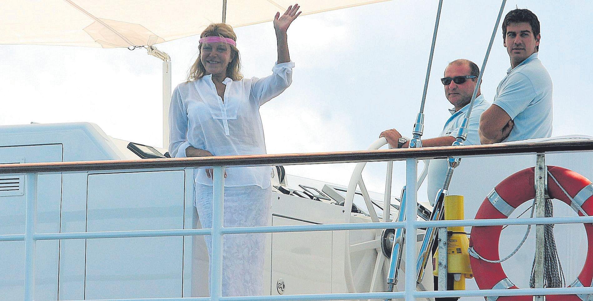 Carmen Thyssen, que adquirió una villa en el Terreno palmesano, fue inseparable del verano mallorquín.