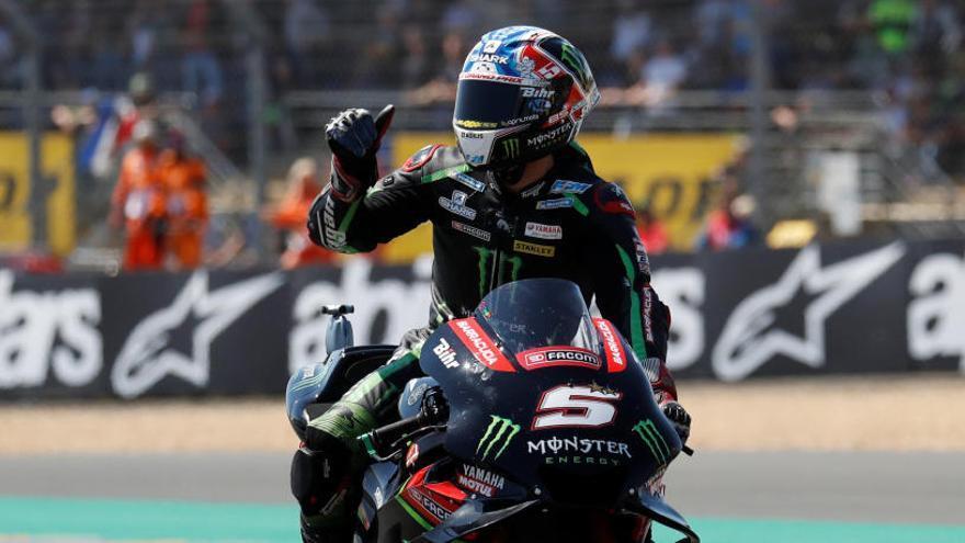 Zarco arrabassa la 'pole' a Márquez a Le Mans