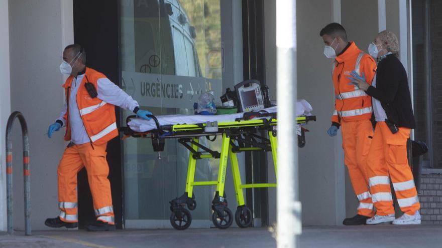Entrada por Urgencias del Hospital de Sagunt