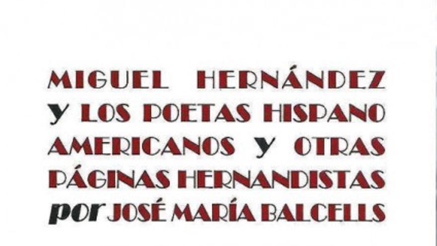 Estudios sobre Miguel Hernández