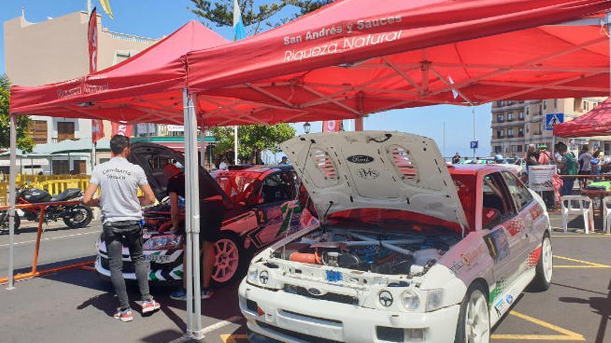 Jorge Rodríguez y Javier Pérez lideran el Rallye Cielo