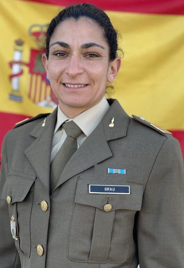 La sargento Débora Grau Serra.