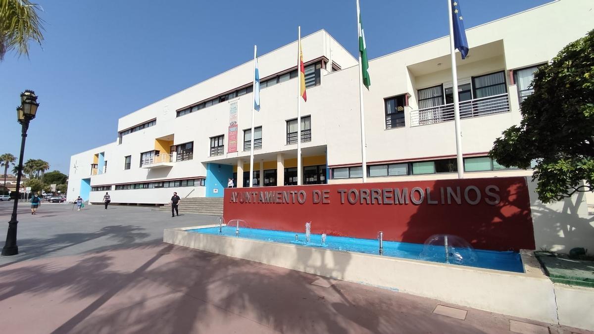 Fachada Ayuntamiento Torremolinos.