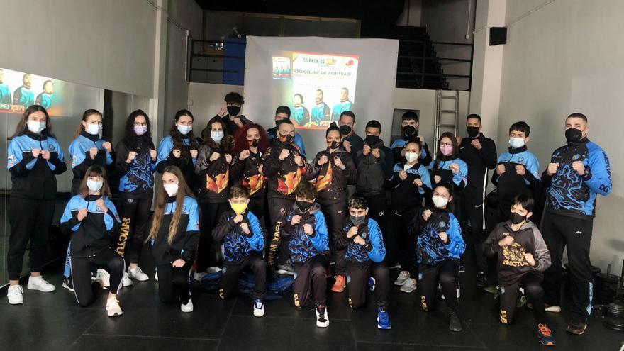 El Club Invictus impulsa la formación de jueces de Taekwon-Do ITF