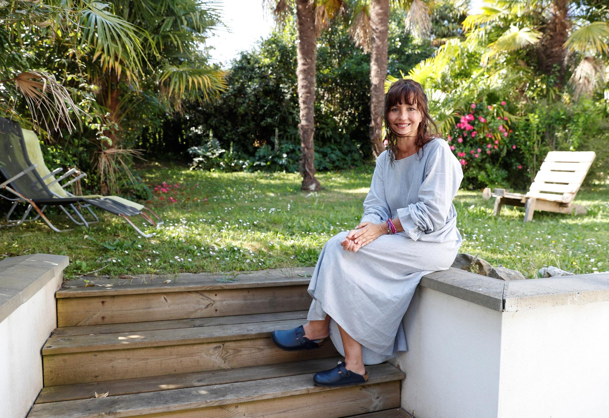 Marie Cosnay, escritora vascofrancesa y activista en apoyo a los inmigrantes