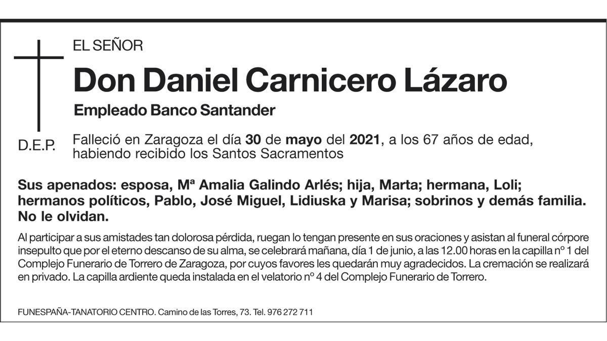 Daniel Carnicero Lázaro