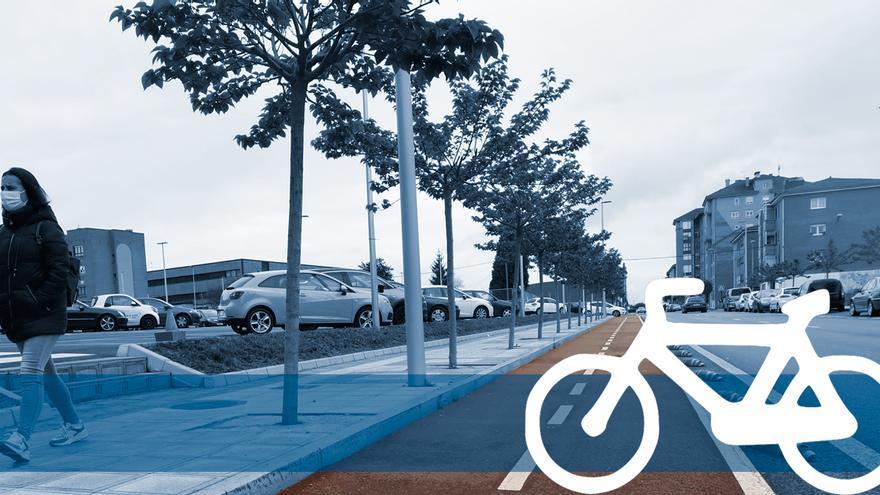 Lugones será Ámsterdam (por las bicicletas) y ya proyecta un carril bici de un kilómetro hasta Parque Principado
