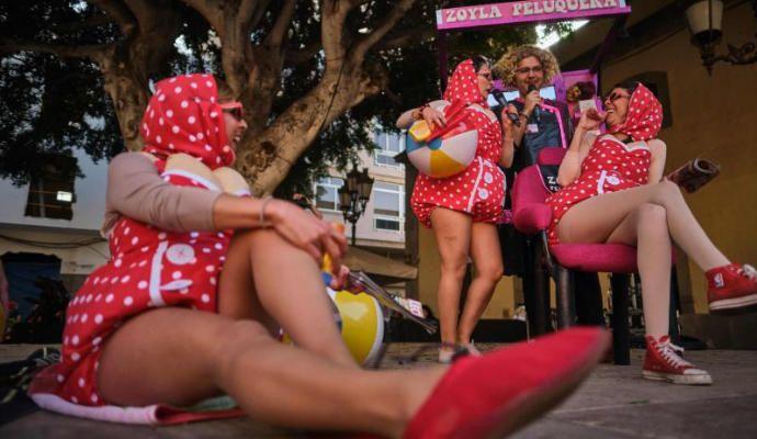 Carnaval de Día en Santa Cruz de Tenerife 2020.
