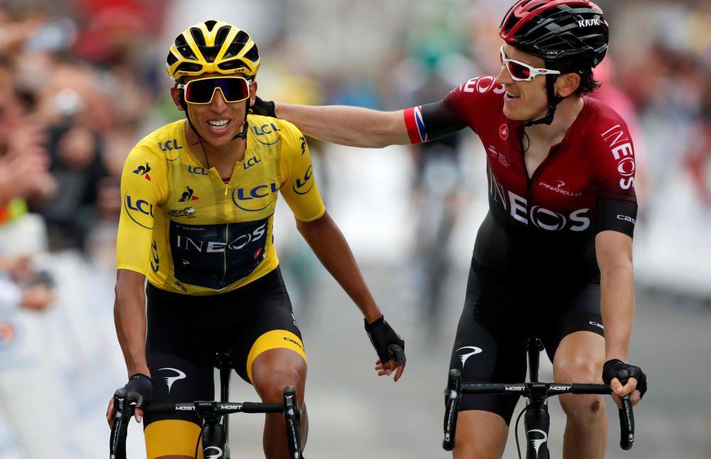 Tour de Francia: La 20ª etapa, en imágenes.