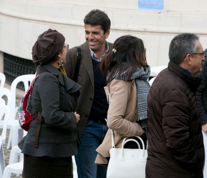La Diputación de Alicante celebra la convivencia entre valenciano y castellano