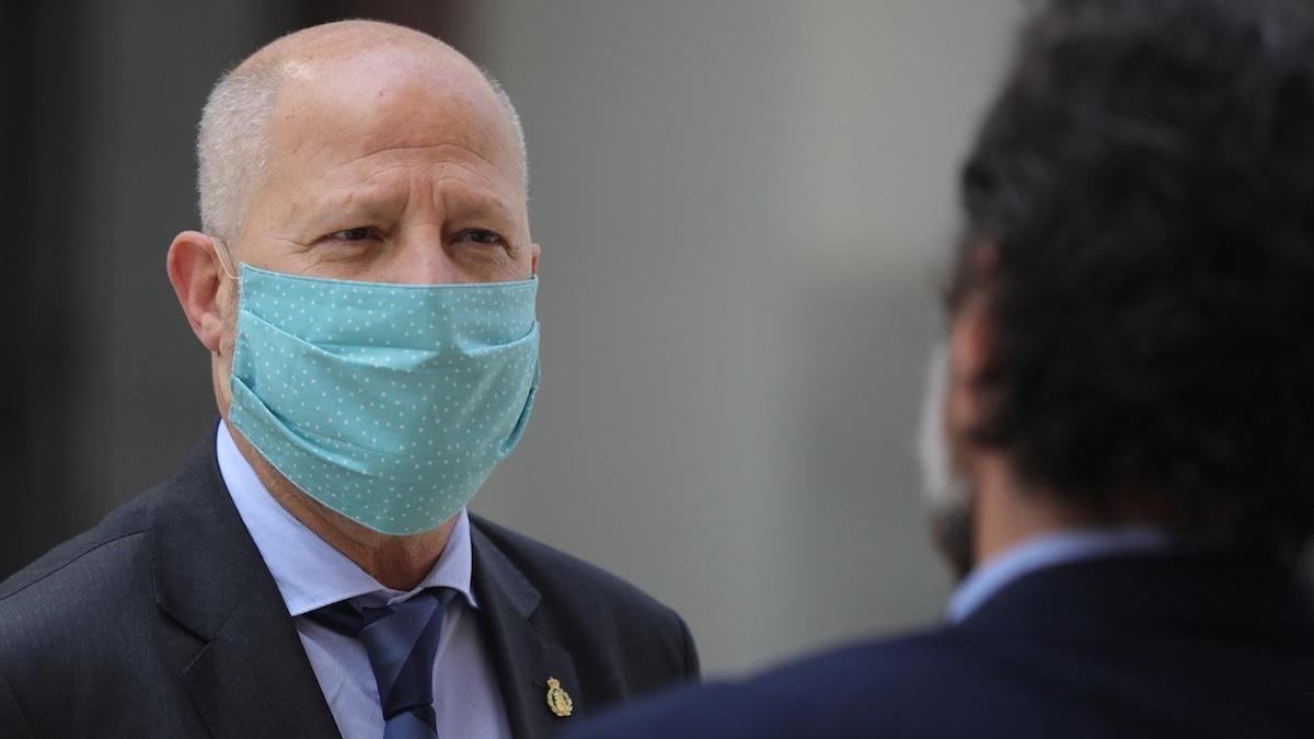 Javier Imbroda, en una imagen del pasado mes de abril.