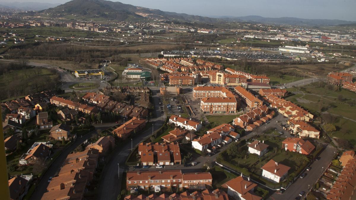 Vista aérea de La Fresneda.