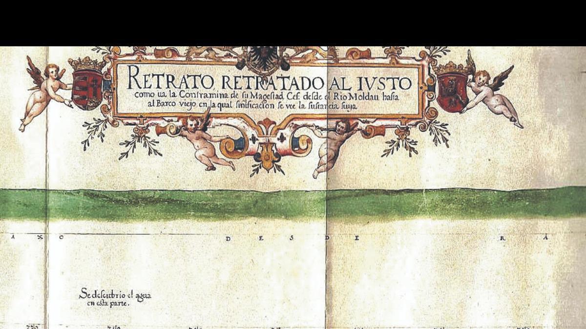 La parte central del mapa.