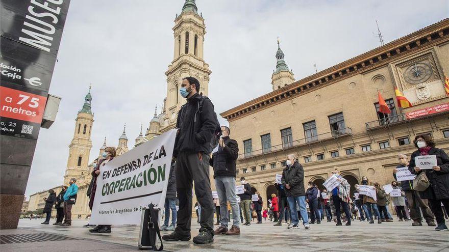 CHA critica los recortes a la cooperación acordados en el Ayuntamiento de Zaragoza