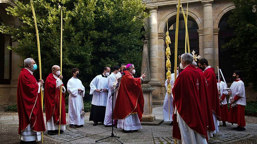 Semana Santa en Zamora: Domingo sin ramos, niños ni Borriquita