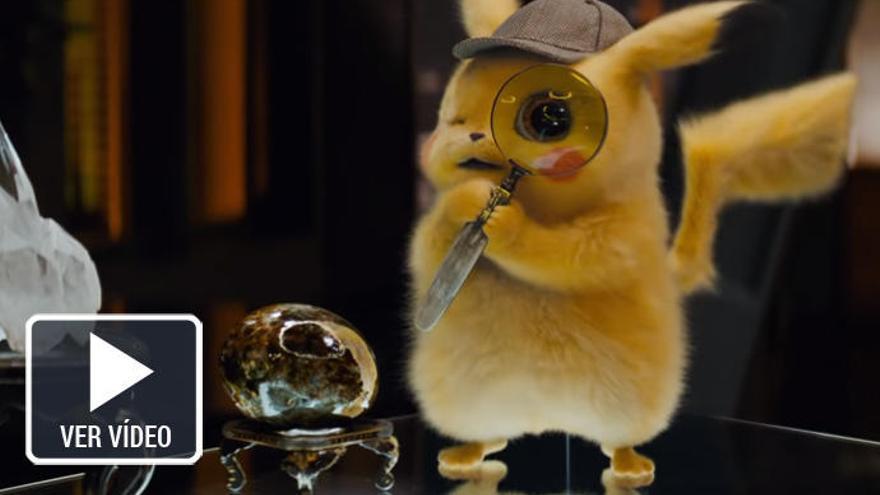 'Detective Pikachu', protagonista de los estrenos de cine de la semana