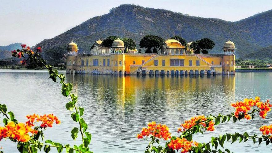 Jaipur La tempesta de sorra