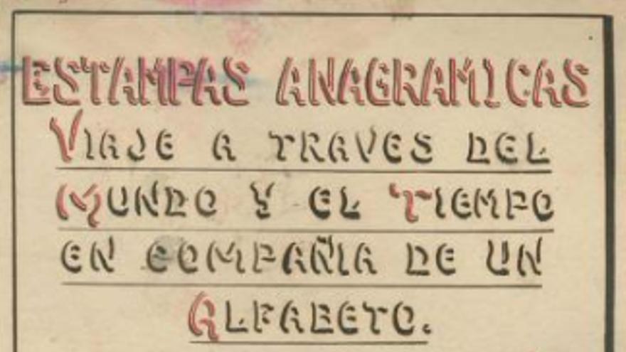 Rafael García Sánchez - Estampas Anagrámicas