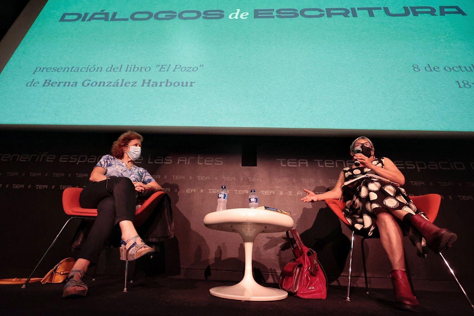 Berna González Harbour, subdirectora de El país, presenta su nuevo libro: 'El pozo'