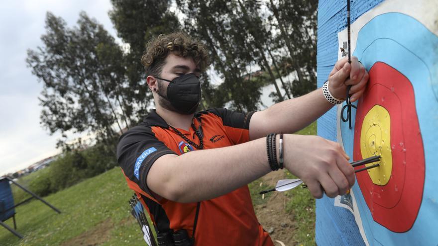 Kevin, el campeón asturiano del tiro con arco con sólo 17 años
