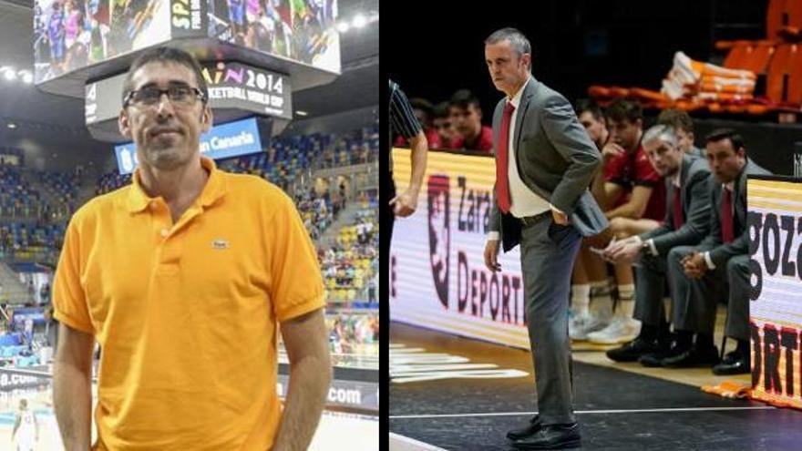 Willy Villar y Porfi Fisac, a punto