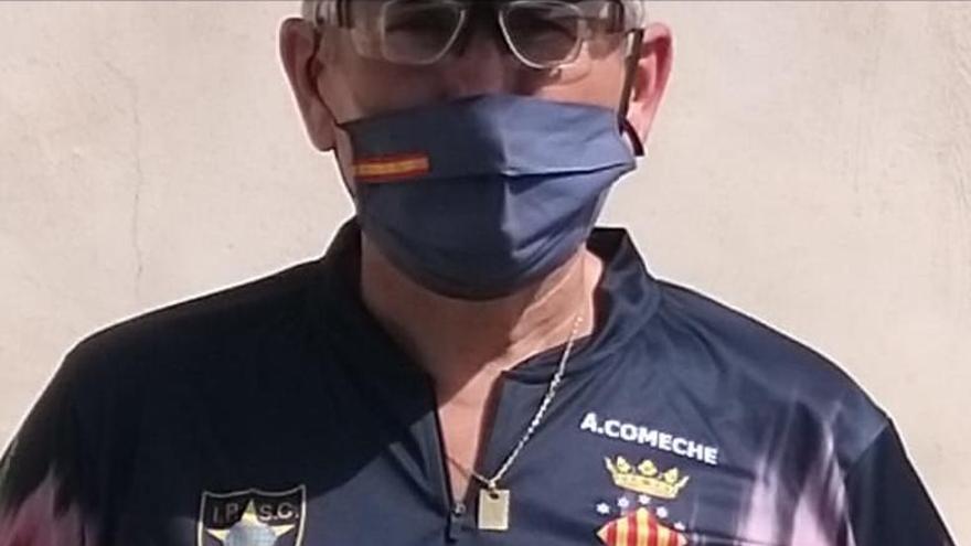 El saguntino Antonio Comeche, campeón de tiro olímpico en Elx
