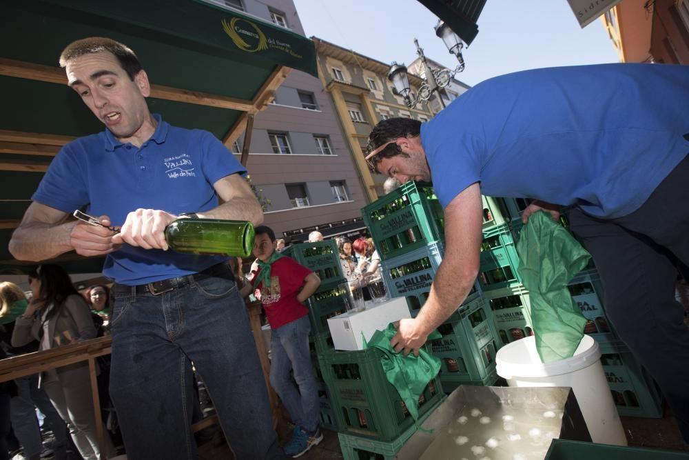 Preba de la sidra de Gascona