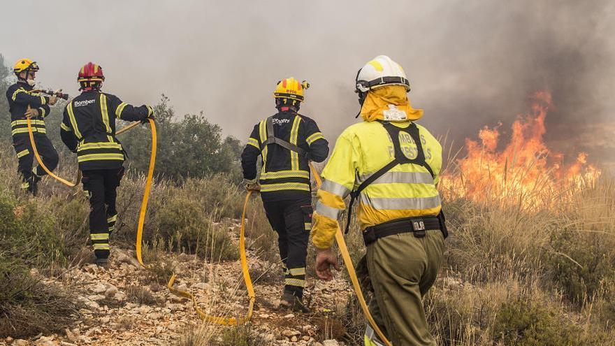 La Comunitat registró en 2019 el menor número de incendios en 33 años