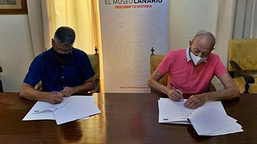 El Museo Canario y Promuscan protegerán el patrimonio musical